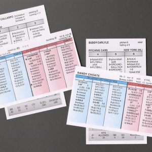 Baseball Card Sets (By Season)